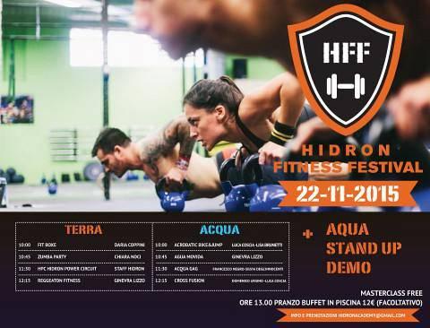 Hidron fitness festival piscina hidron eventi a firenze - Piscina hidron campi bisenzio orari e prezzi ...