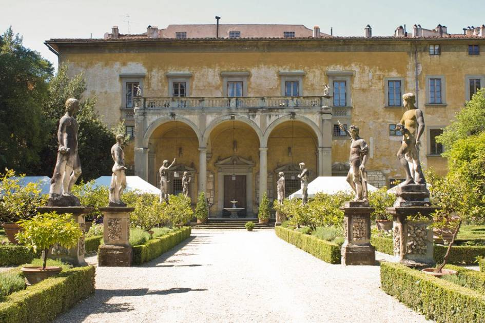 Apertura 82 Dimore Storiche A Firenze Giardino Corsini