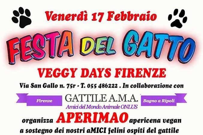 Festa del gatto aperimao veggy days eventi a firenze - Gattile bagno a ripoli firenze ...